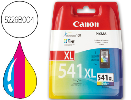 INK-JET CANON CL-541XL COLOR PIXMA MG2150/ MG3150